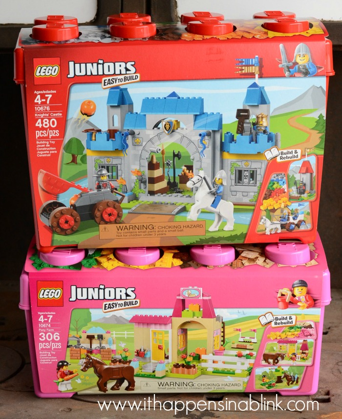 Inspiring Creativity with LEGOS Juniors #LegoJuniorMakers #sponsored