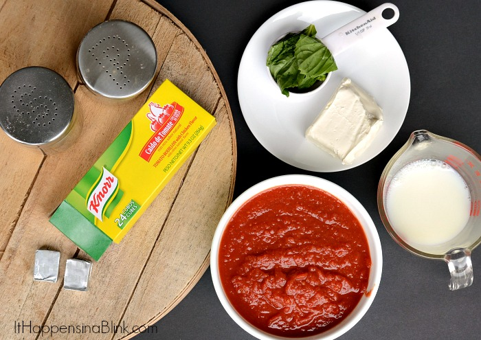Tomato Basil Soup #TEArifficPairs #shop #cbias