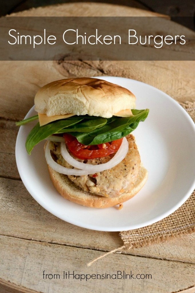 Simple Chicken Burger #TEArifficPairs #shop #cbias