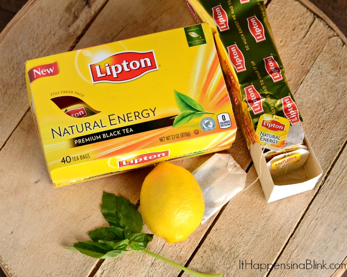Lemon Basil Tea #TEArifficPairs #shop #cbias