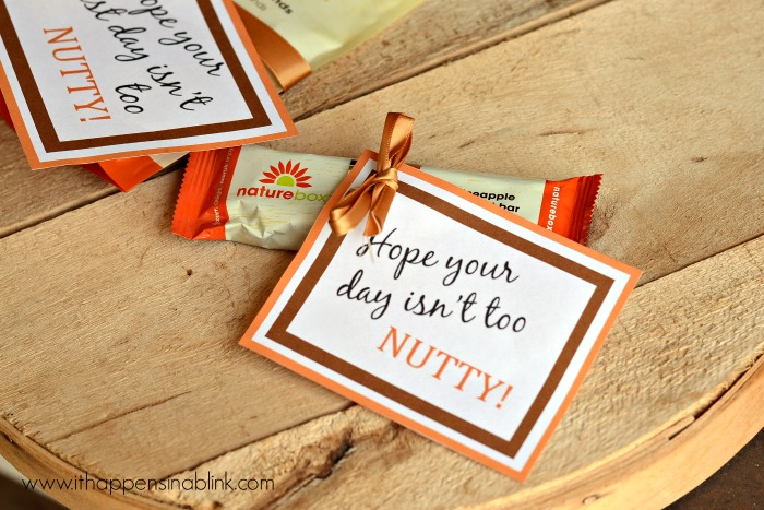 Back to School Snack Printables with NatureBox #natureboxsnacks #ad #CleverGirls