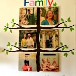 Family Tree Playroom Wall Gallery