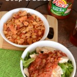 Taco Twist Soup and Salad with Campbell's Labels for Education #Labels4Edu #cbias