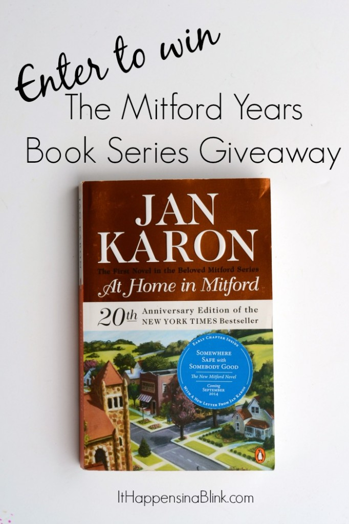 The Mitford Years Series Giveaway