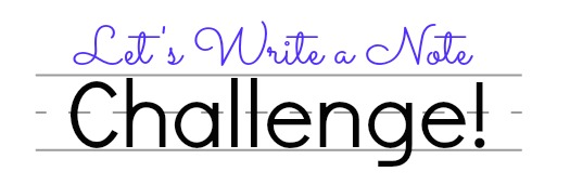 Let's Write a Note Challenge
