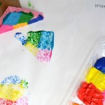Handled Sponge Stamps with Viva® Vantage Paper Towels