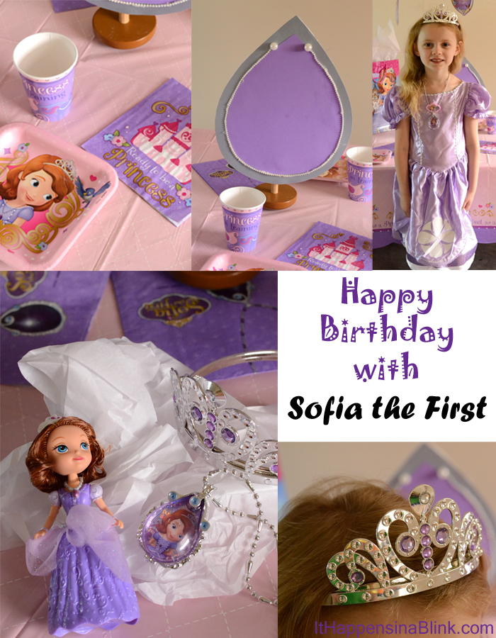 Birthday Party Ideas with Sofia the First #JuniorCelebrates #shop #cbias