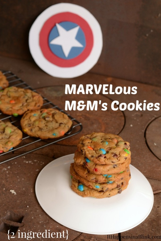 MARVELous M&M's Cookies  |  ItHappensinaBlink.com  |  #shop #cbias #HeroesEatMMS