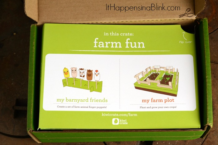 Farm Fun with Kiwi Crate