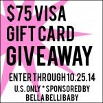 $75 Visa Gift Card Giveaway