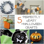 5 Easy Halloween Crafts and The Project Stash