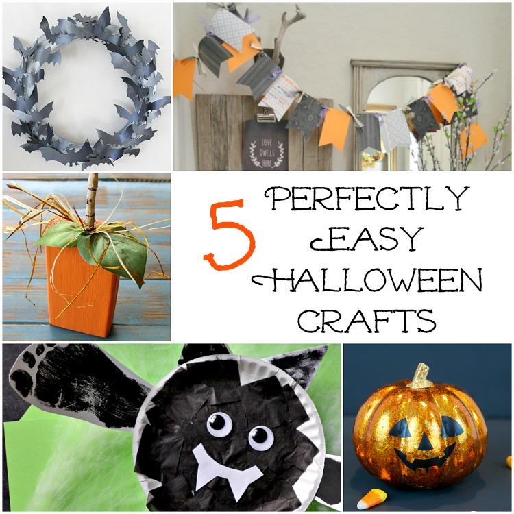 5 Easy Halloween Crafts