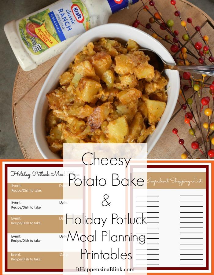 Cheesy Potato Bake #TasteTheSeason #CollectiveBias #shop