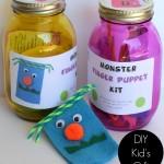 Monster Finger Puppet Kit