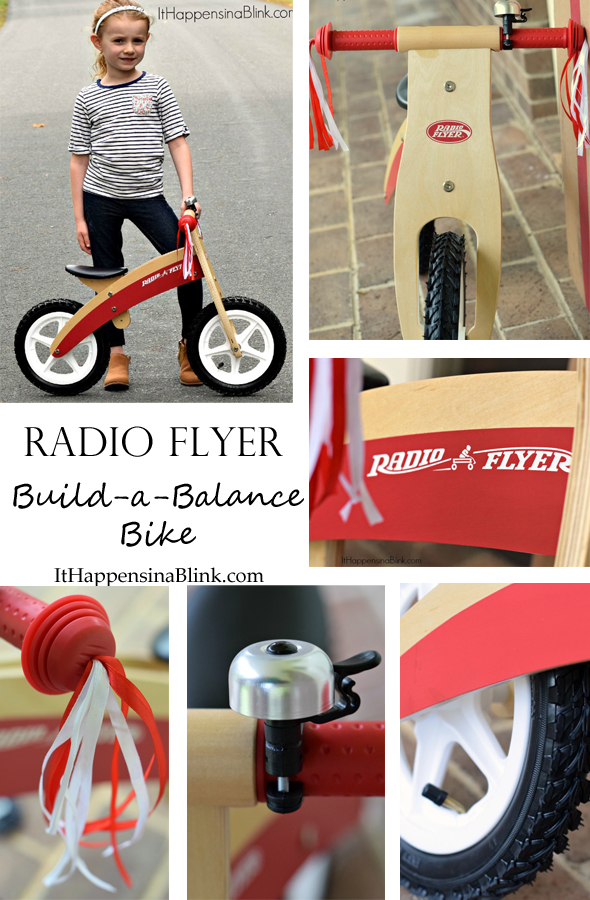 Radio Flyer Build-a-Balance Bike  |  itHappensinaBlink.com