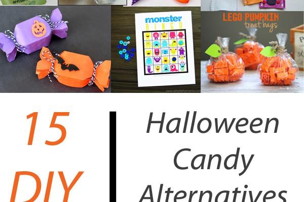 15 DIY Halloween Candy Alternatives   ItHappensinaBlink.com