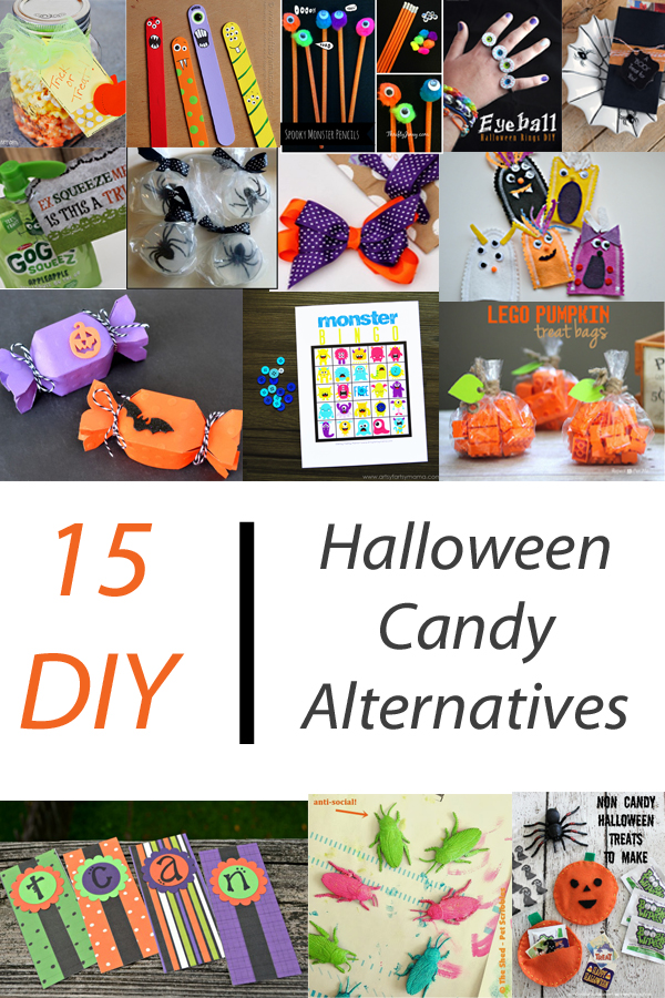 15 DIY Halloween Candy Alternatives | ItHappensinaBlink.com
