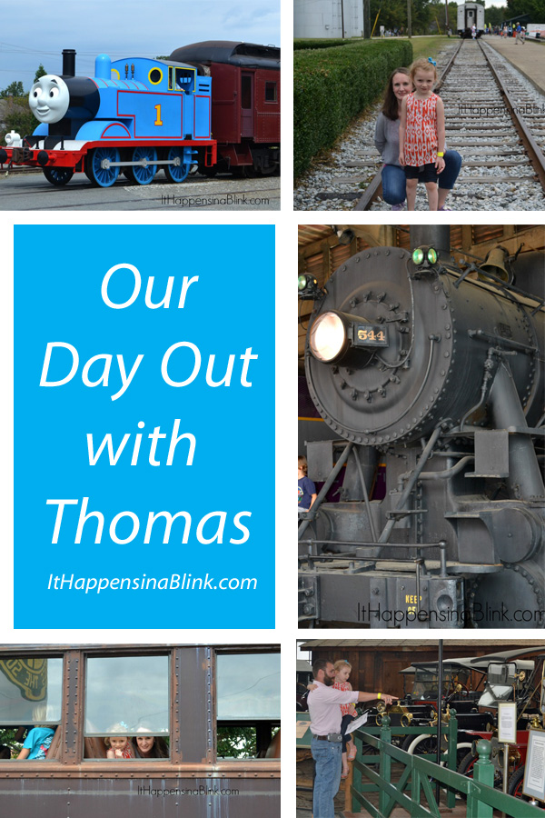 A Day Out with Thomas the Train  |  ItHappensinaBlink.com
