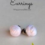 Yarn Ball Earrings