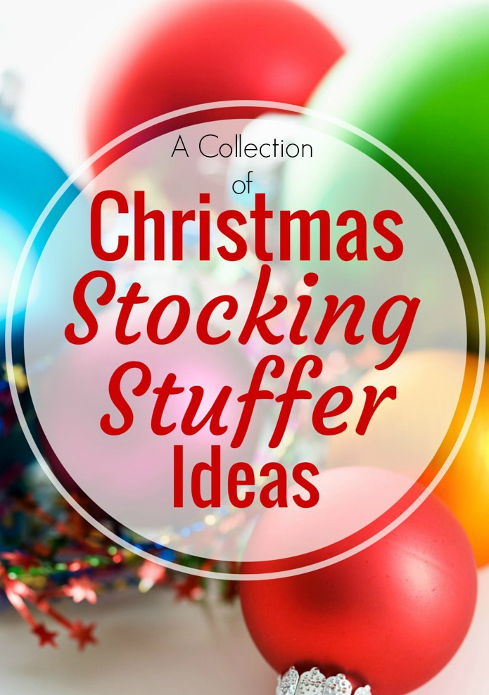 A Collection of Christmas Stocking Stuffer Ideas |  ItHappensinaBlink.com  |  Includes links to stocking stuffer ideas for women, teens, bacon lovers, and toddlers