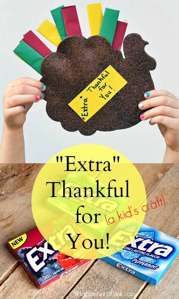 """Extra"" Thankful for You Craft 
