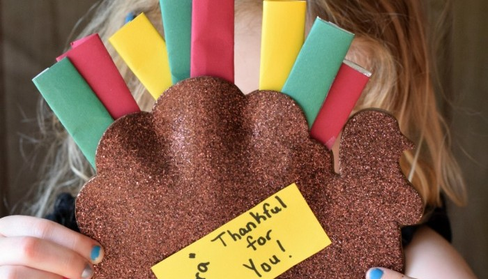 """Extra"" Thankful for You Turkeys with Extra Gum"