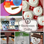 6 Snowmen Crafts and The Project Stash