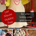 Last Minute Holiday Prep {floor cleaning for when holiday prep goes wrong}
