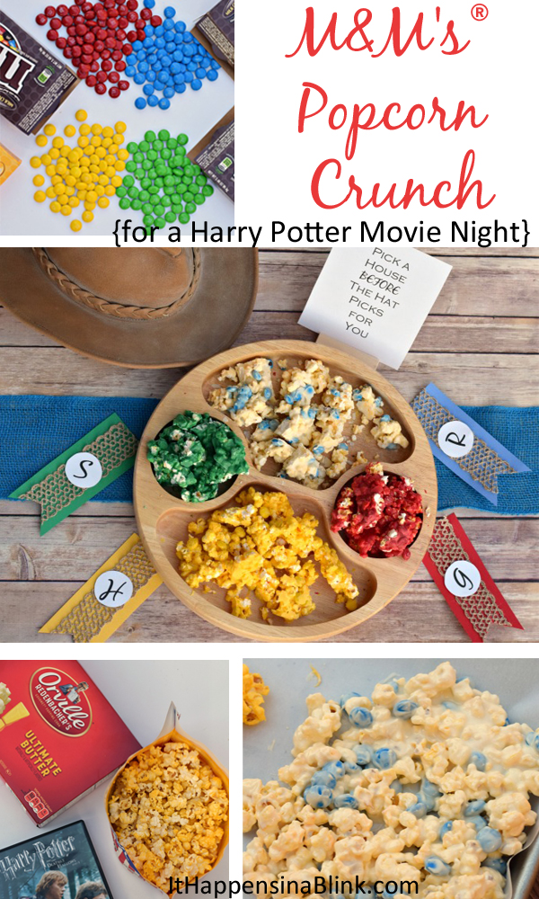 M&Ms Popcorn Crunch for a  Harry Potter Movie Night #MovieNight4Less #CollectiveBias #ad