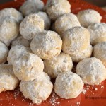 White Chocolate Snowball Cookies and a Sweet Appetizer Collection