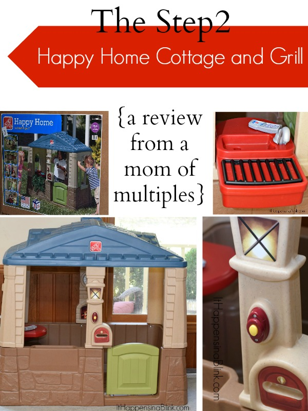 Step2 Happy Home Cottage and Grill  |  ItHappensinaBlink.com