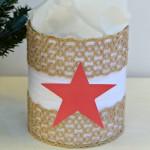 Yarn Wrapped Tin
