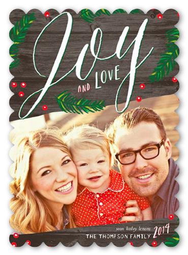 Woodsy Joy Christmas Card