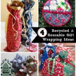 4 Gift Wrapping Ideas and The Project Stash