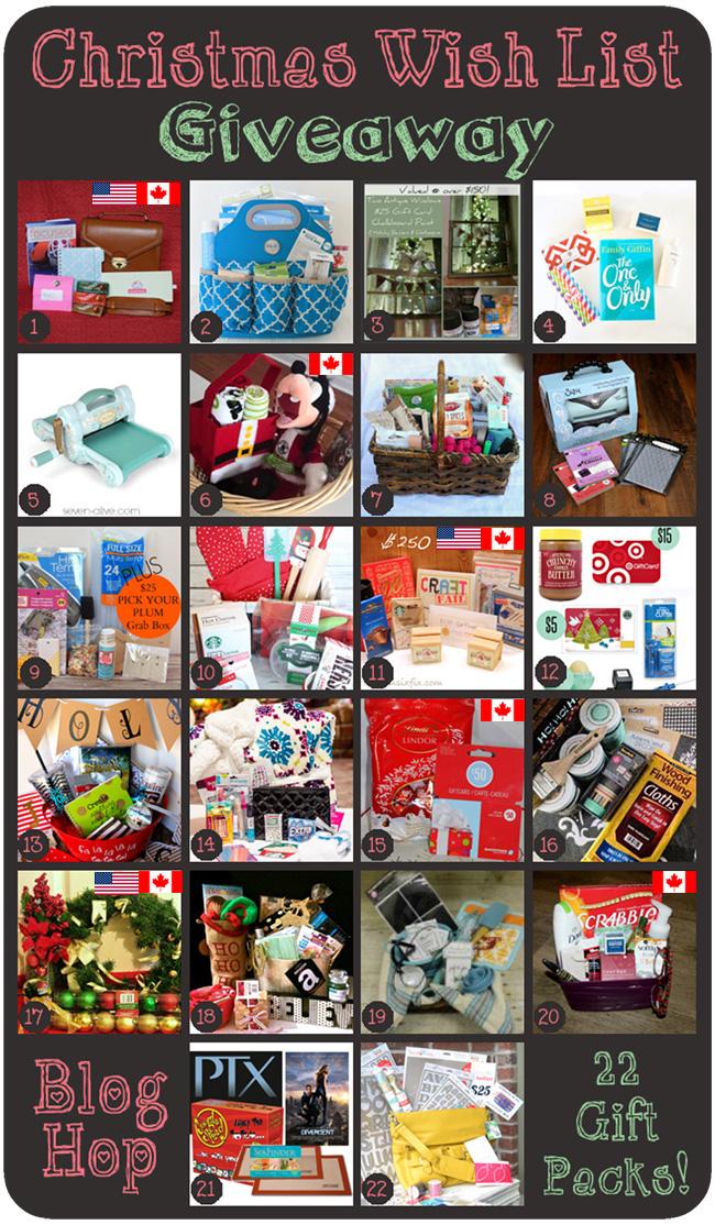 Wish List Giveaway     ItHappensinaBlink.com