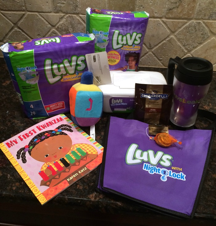 LUVS prize pack giveaway