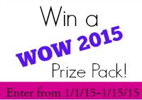 WOW Prize Pack Giveaway