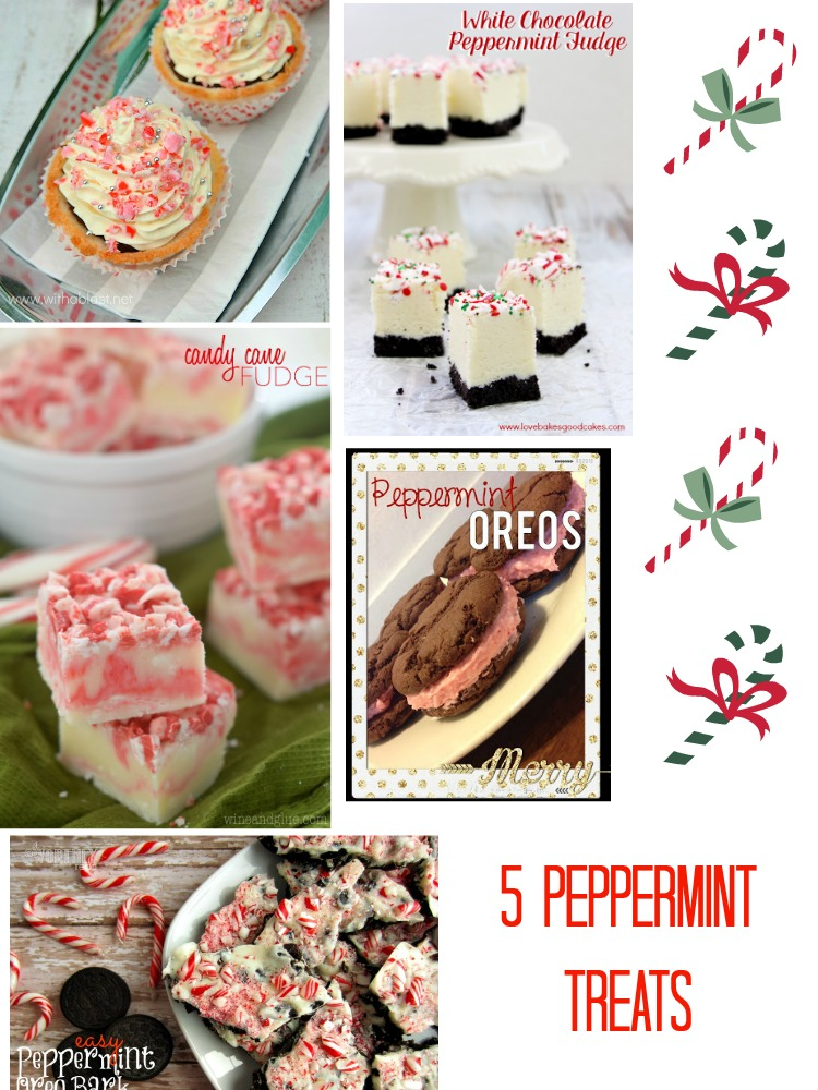 5 Peppermint Recipes  |  ItHappensinaBlink.com