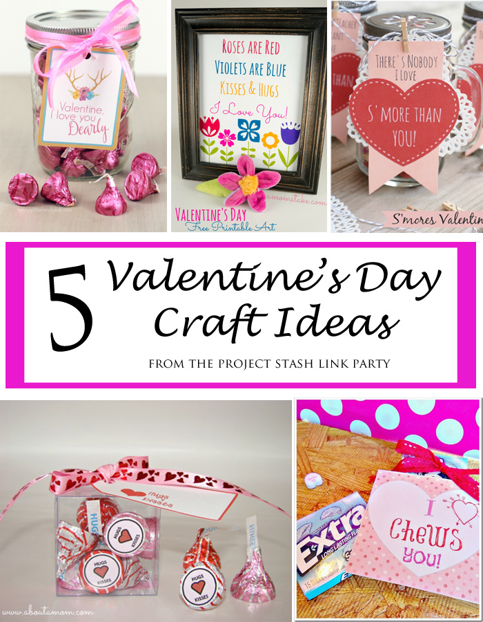 5 Valentine's Day Craft Ideas