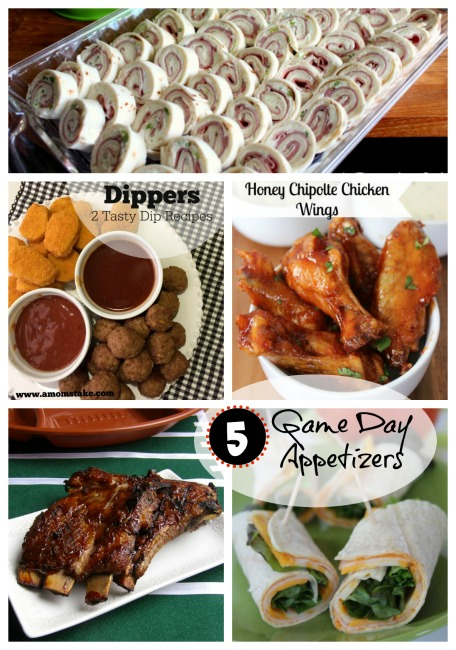 5 Game Day Appetizers