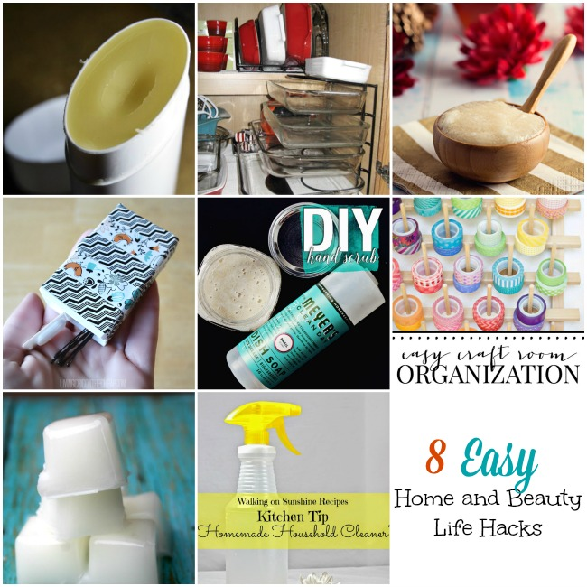 8 Easy Home and Beauty Life Hacks