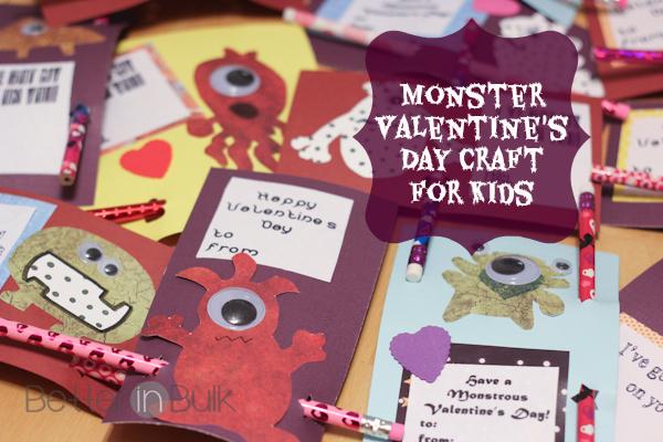 Monster-Valentine-Craft