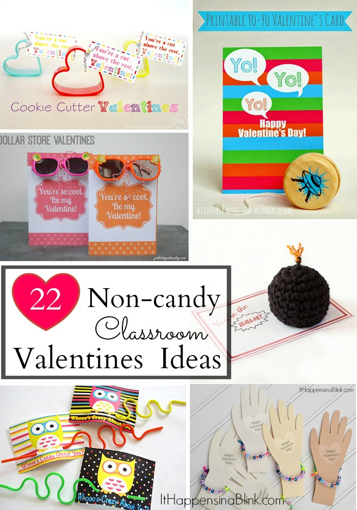 22 Non-Candy Classroom Valentines  |  See a collection of 22 non-candy valentines that are great for kids and preschool classes