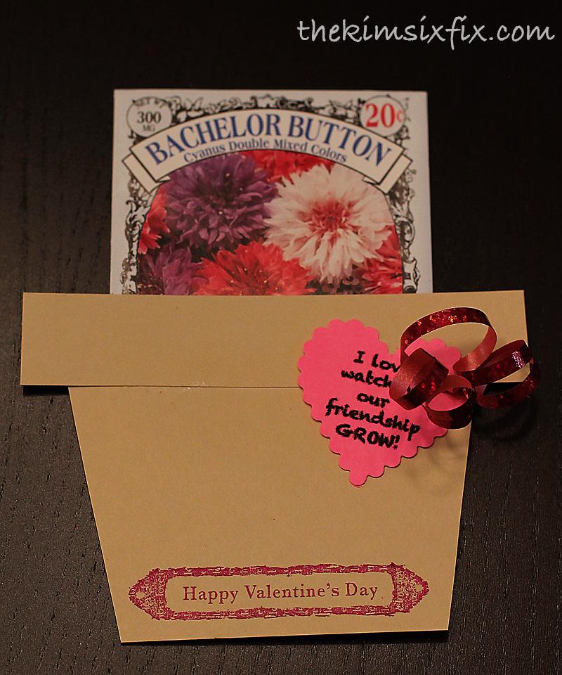 flower seeds valentine