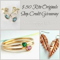 $50 Rito Originals Shop Credit Giveaway