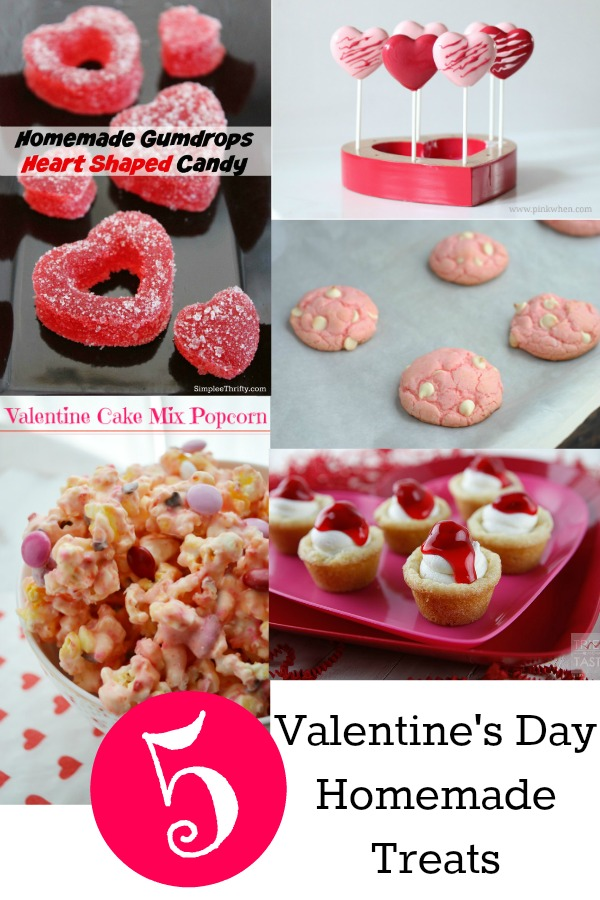 valentines day homemade treats from the project stash link party - Homemade Valentine Treats