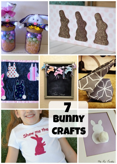 7 Bunny Crafts at The Project Stash Link Party