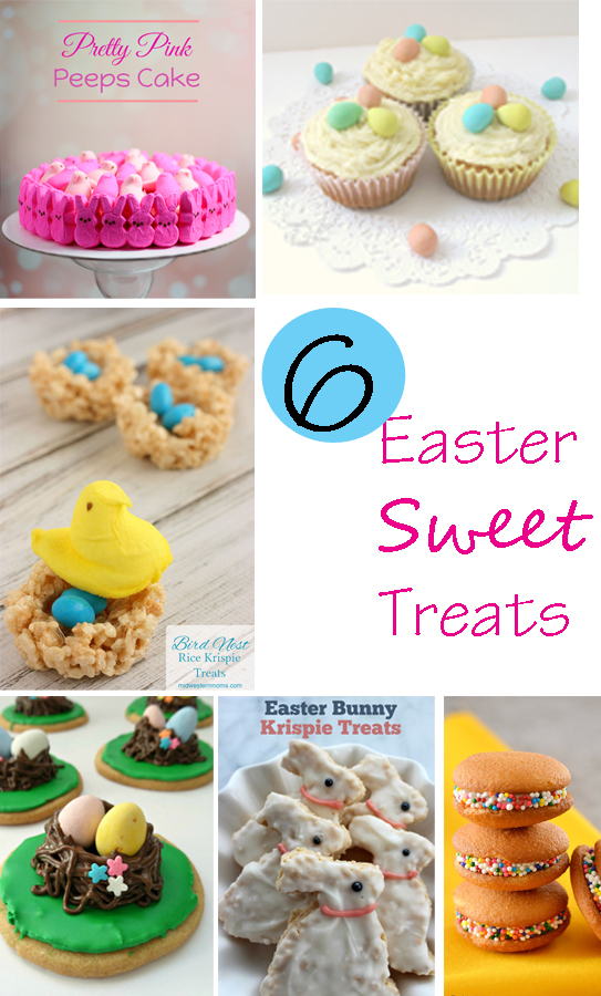 6 Easter Sweet Treats from The Project Stash link party