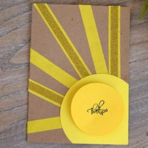 Happy sunshine! #papercrafting #cardmaking #crafts Tutorial on the blog today!