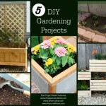 5 DIY Gardening Projects and The Project Stash